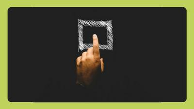 finger pressing square